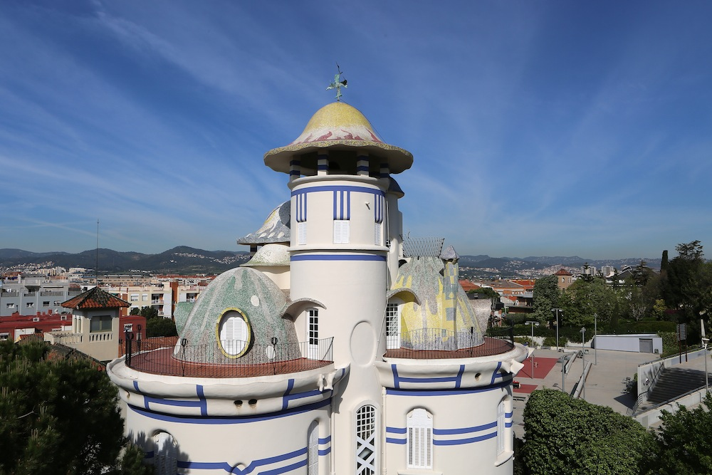 La Torre de la Creu de Sant Joan Despí, obra de Jujol