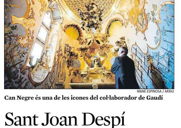 """Sant Joan Despí impulsa l'any Jujol"""