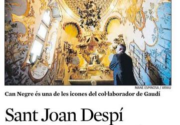 «Sant Joan Despí impulsa el año Jujol»