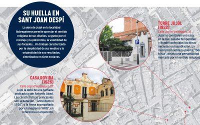 Jujol, una joya modernista que brilla en el Baix Llobregat